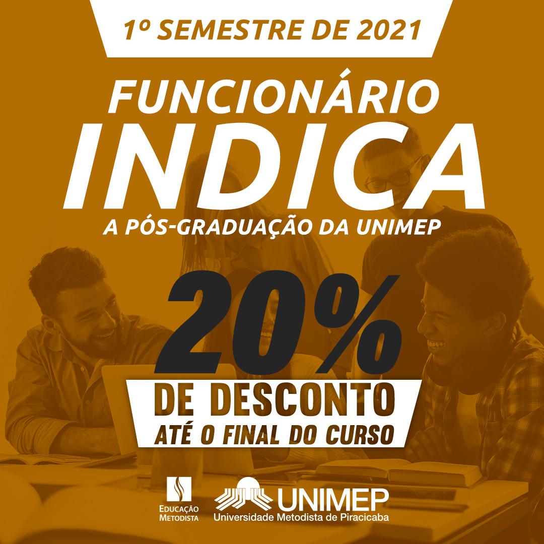 Funcionário Indica - Pós Unimep
