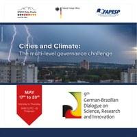 """Assessoria de Relações Internacionais convida para o Diálogo Brasil-Alemanha que terá como tema """"Cities and Climate – The Multi-level Governance Challenge"""""""