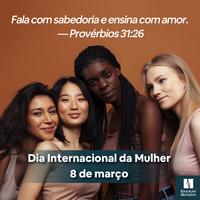 Dia Internacional da Mulher - 2021