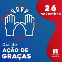 Dia Nacional de Ação de Graças - 2020